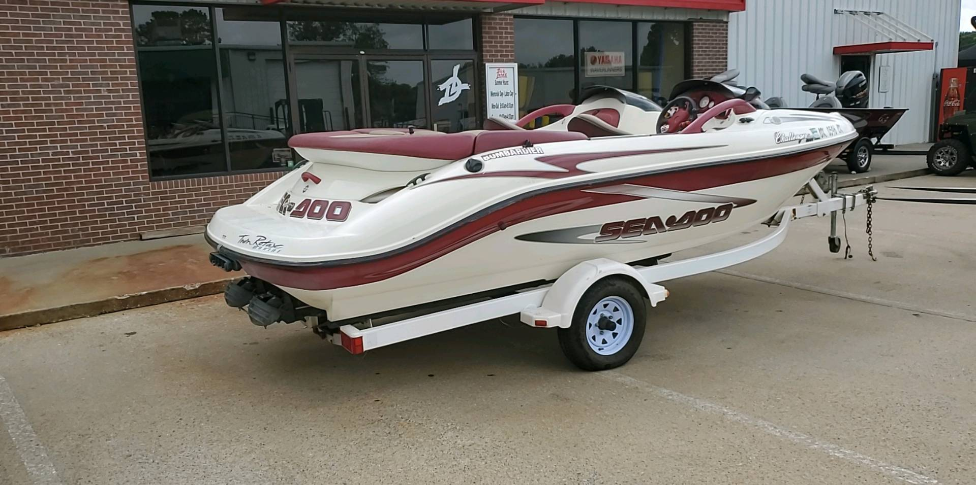 1999 Sea-Doo Sport Boats CHALLENGER 1800 STANDARD in Afton, Oklahoma - Photo 2