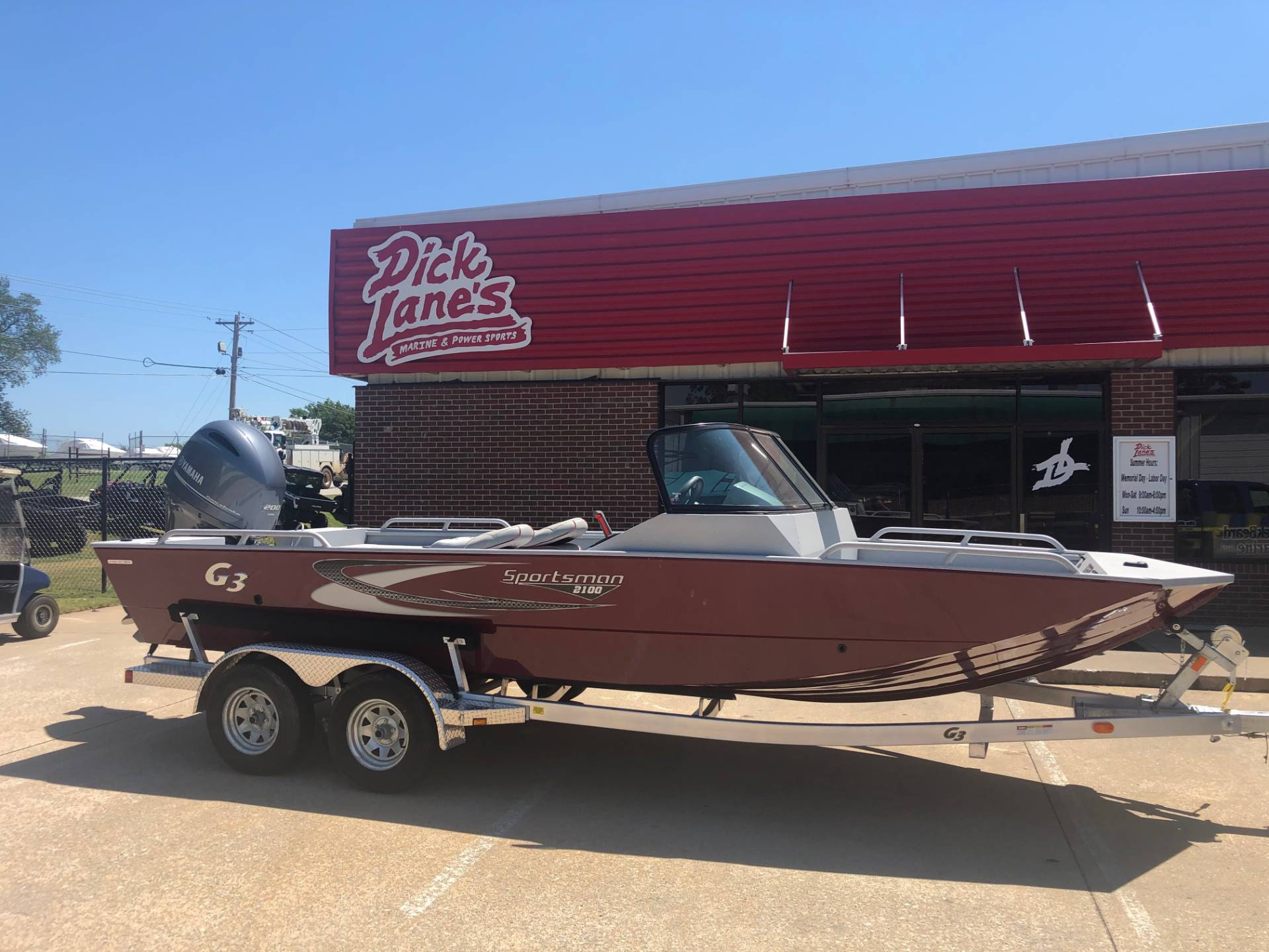 2019 G3 Sportsman 2100 in Afton, Oklahoma - Photo 1
