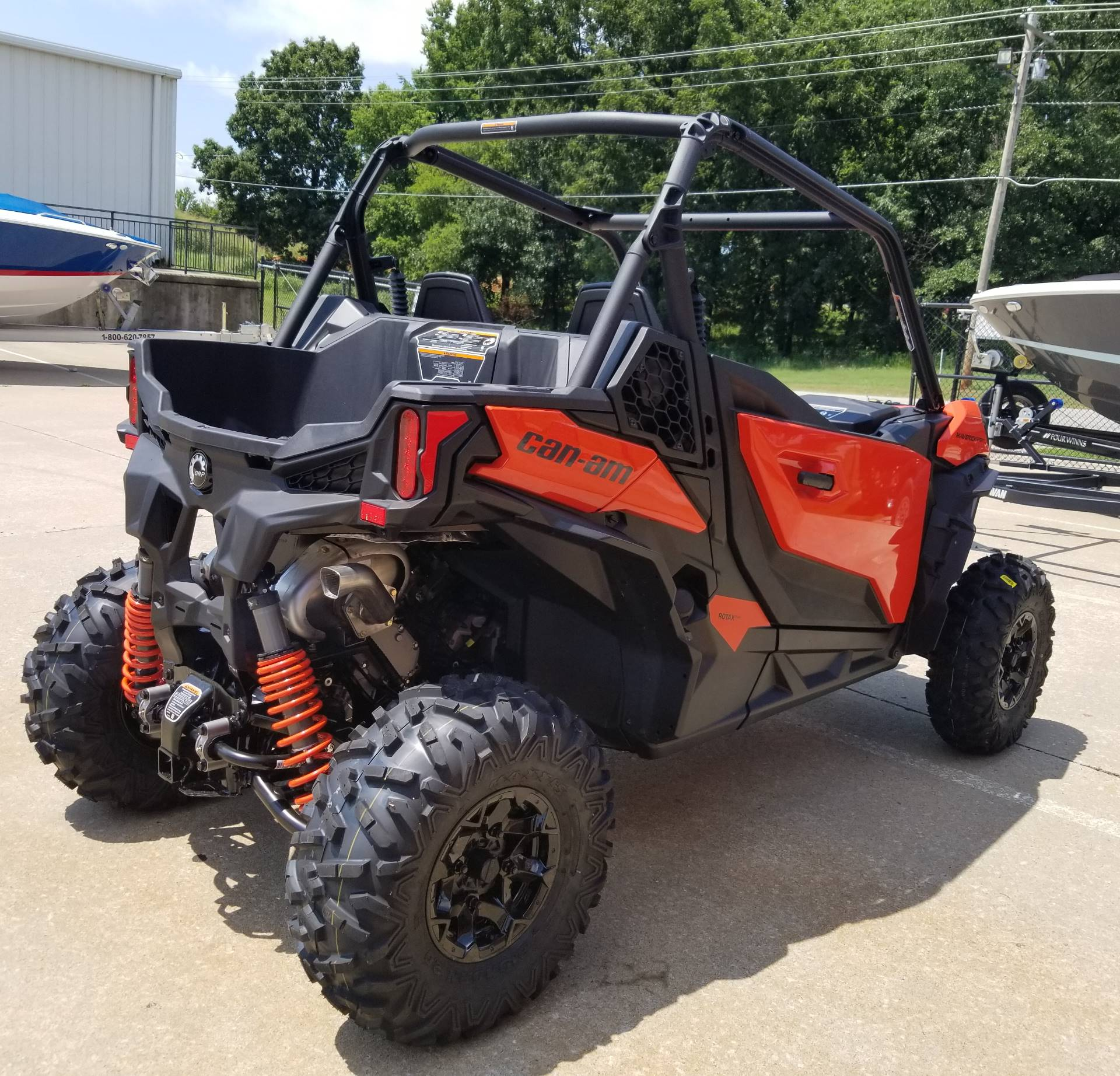2019 Can-Am Maverick Sport DPS 1000R in Afton, Oklahoma - Photo 7