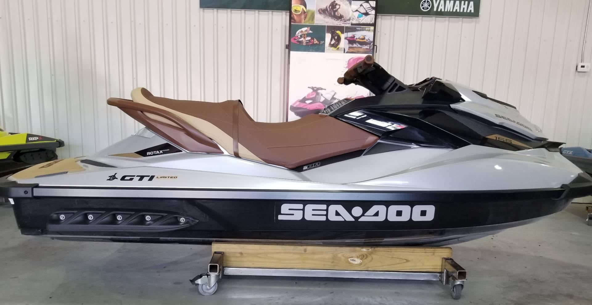 2018 Sea-Doo GTI Limited 155 1