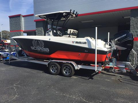 2017 Wellcraft 242 SCARAB OFFSHORE  in Goldsboro, North Carolina