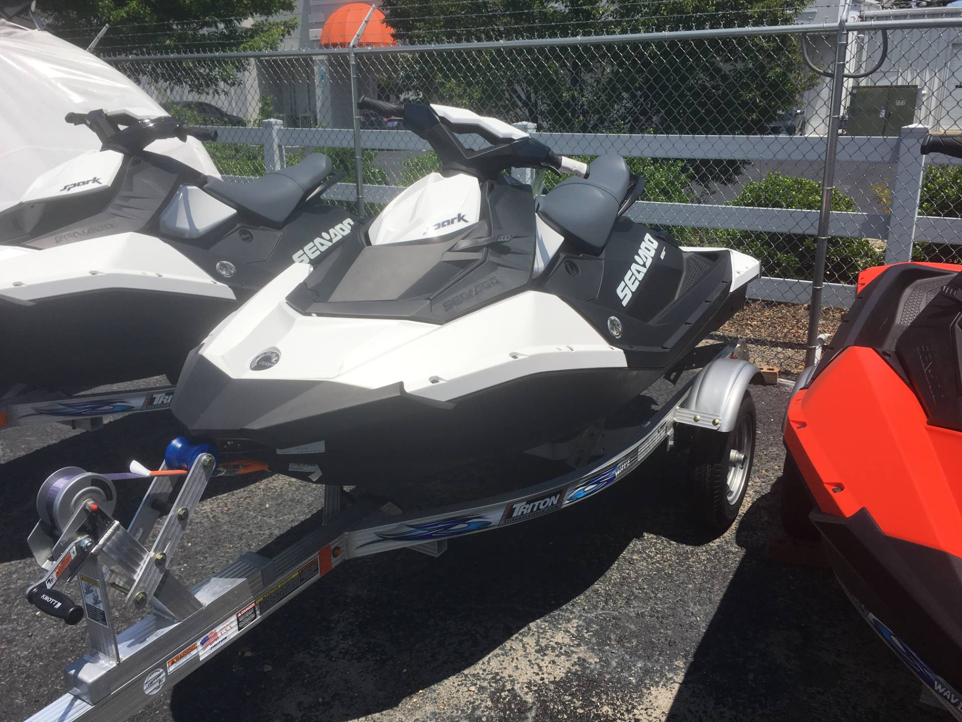 2017 Sea-Doo SPARK 2up 900 H.O. ACE iBR & Convenience Package Plus in Goldsboro, North Carolina