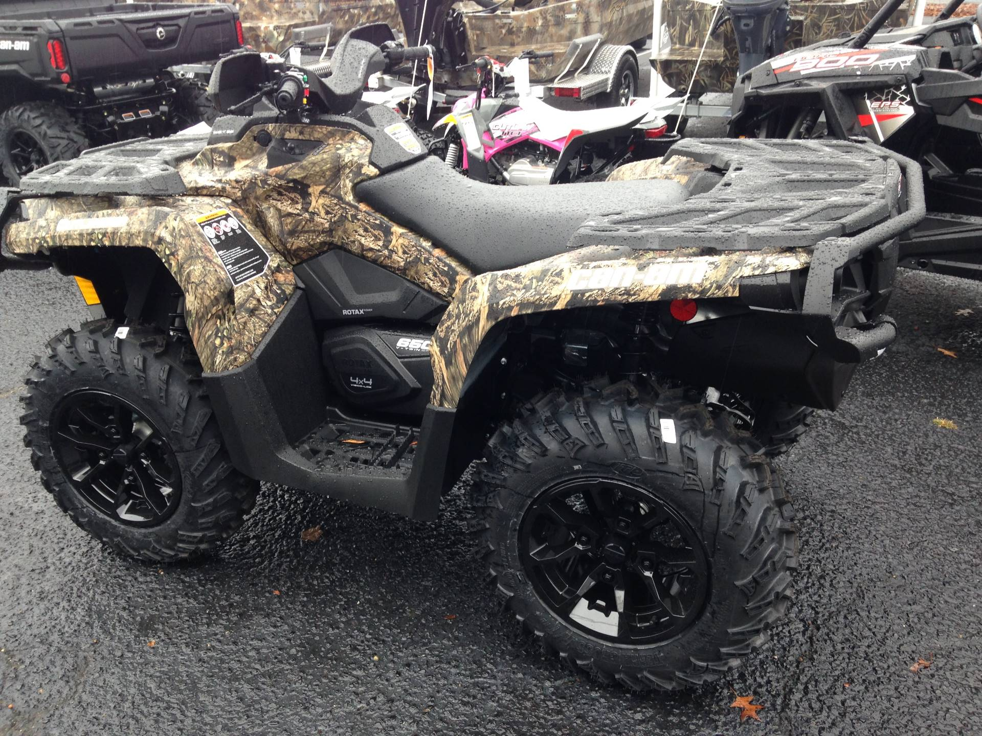 2017 Can-Am Outlander XT 650 in Goldsboro, North Carolina