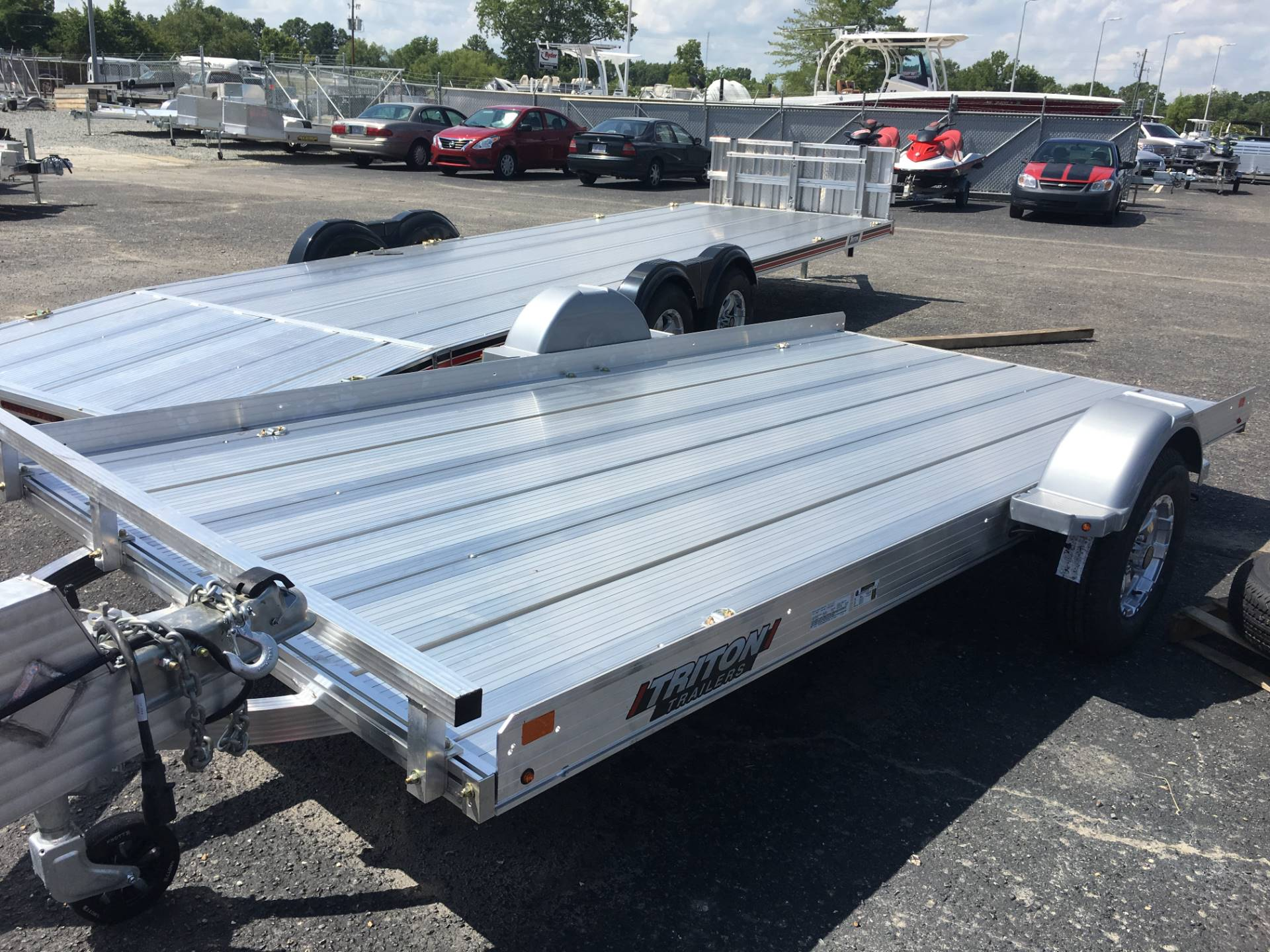 2018 Triton Trailers TILT 1482 in Goldsboro, North Carolina