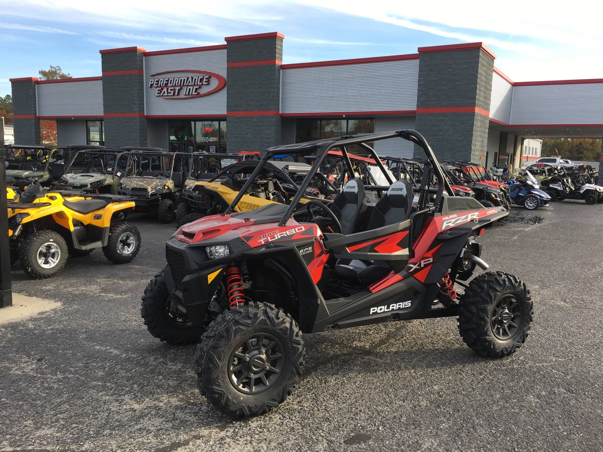 2018 Polaris RZR XP Turbo EPS Fox Edition in Goldsboro, North Carolina