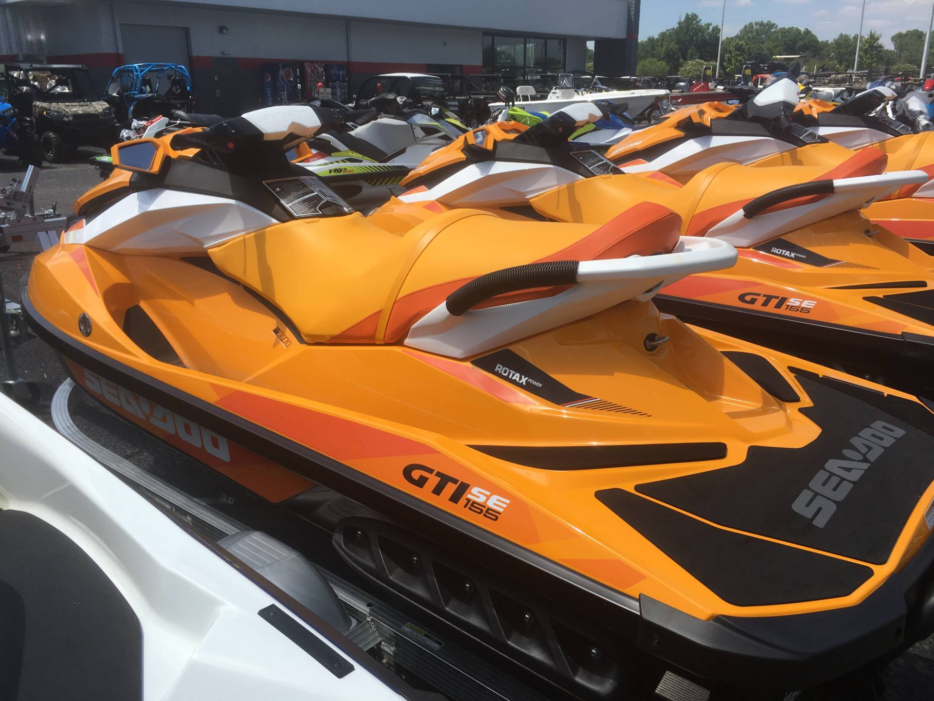 2017 Sea-Doo GTI SE 155 in Goldsboro, North Carolina
