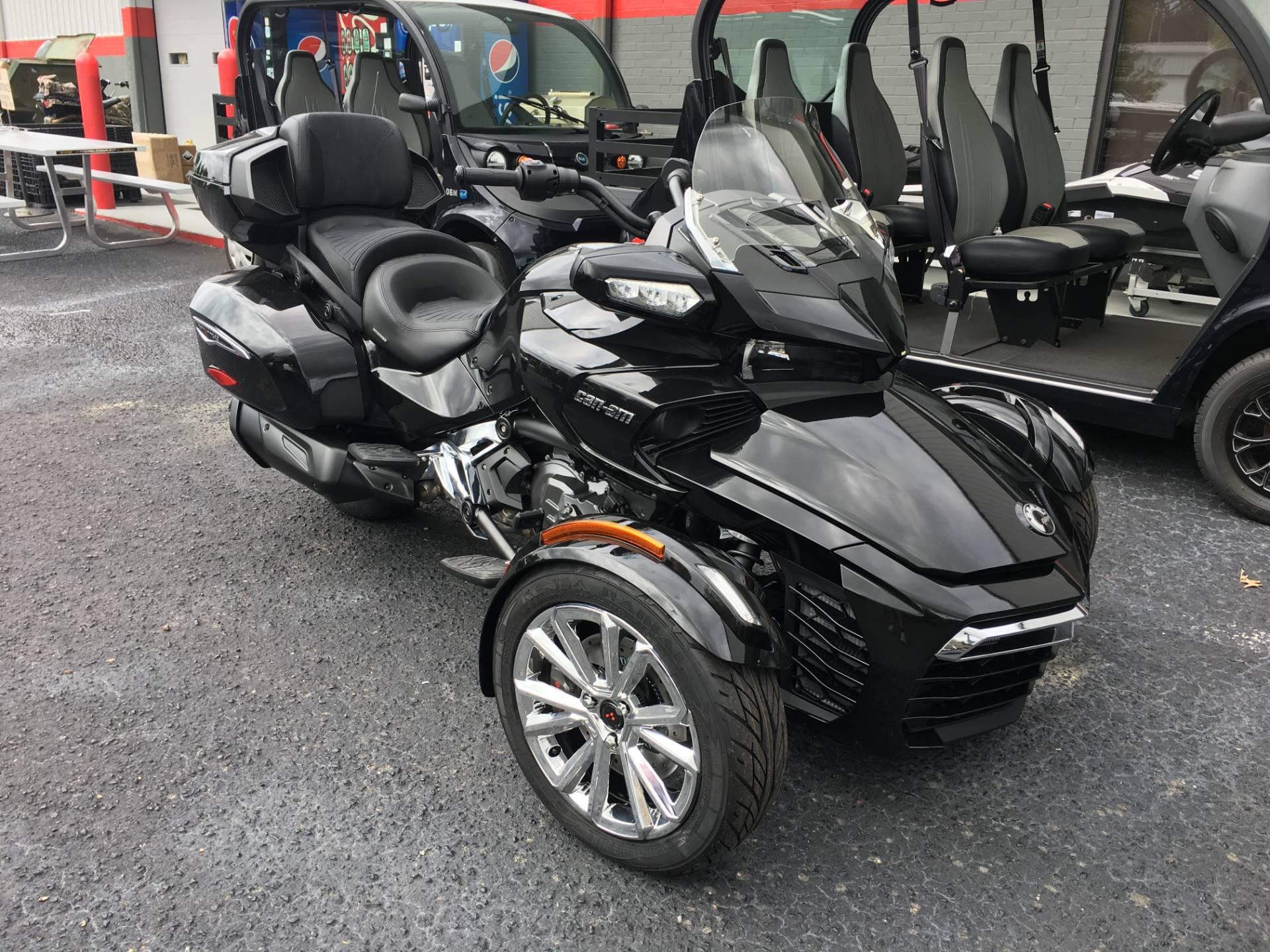 2017 Can Am Spyder F3 Limited Motorcycles Goldsboro North Carolina