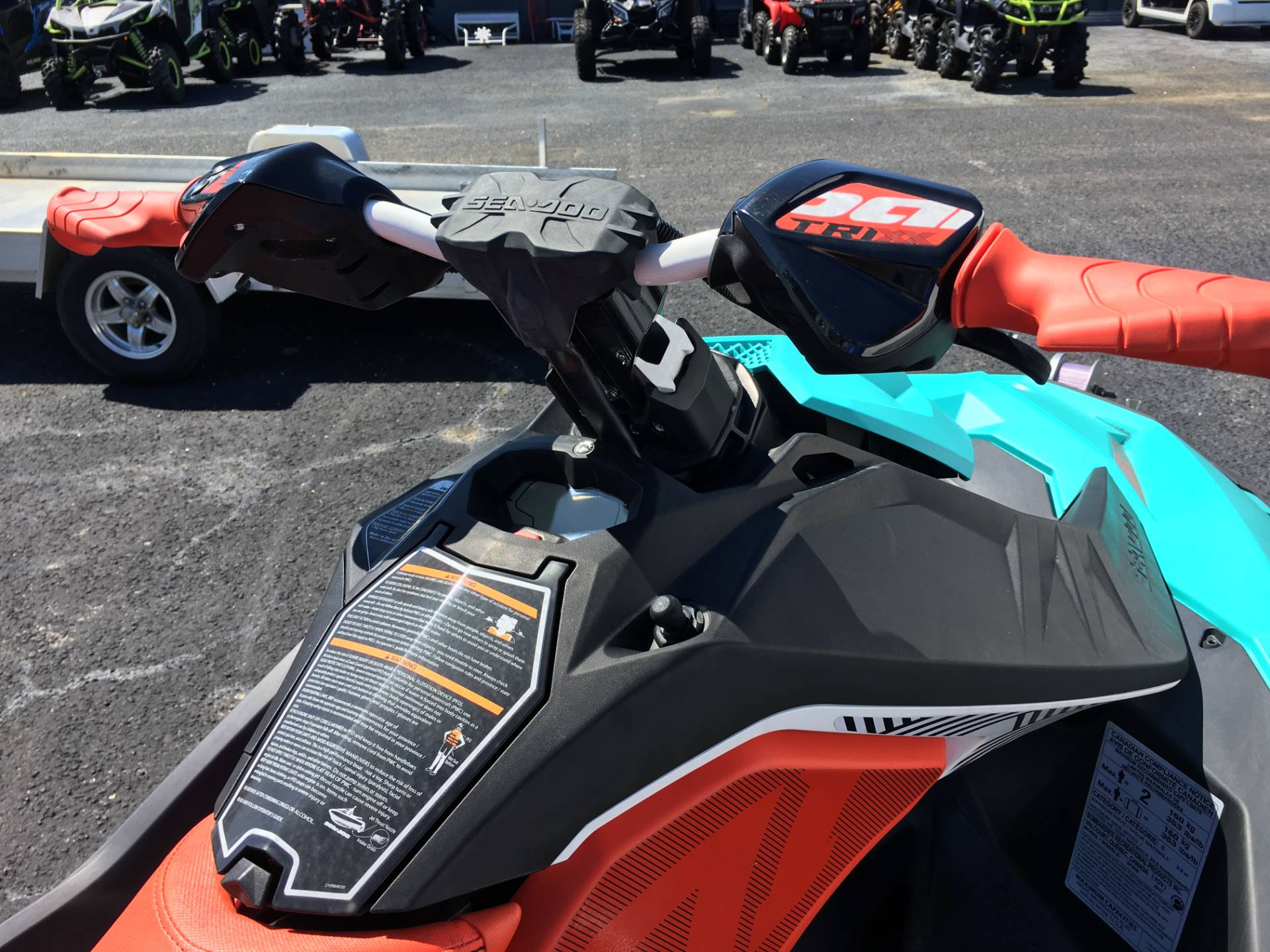 2017 Sea-Doo Spark 2up Trixx iBR in Goldsboro, North Carolina