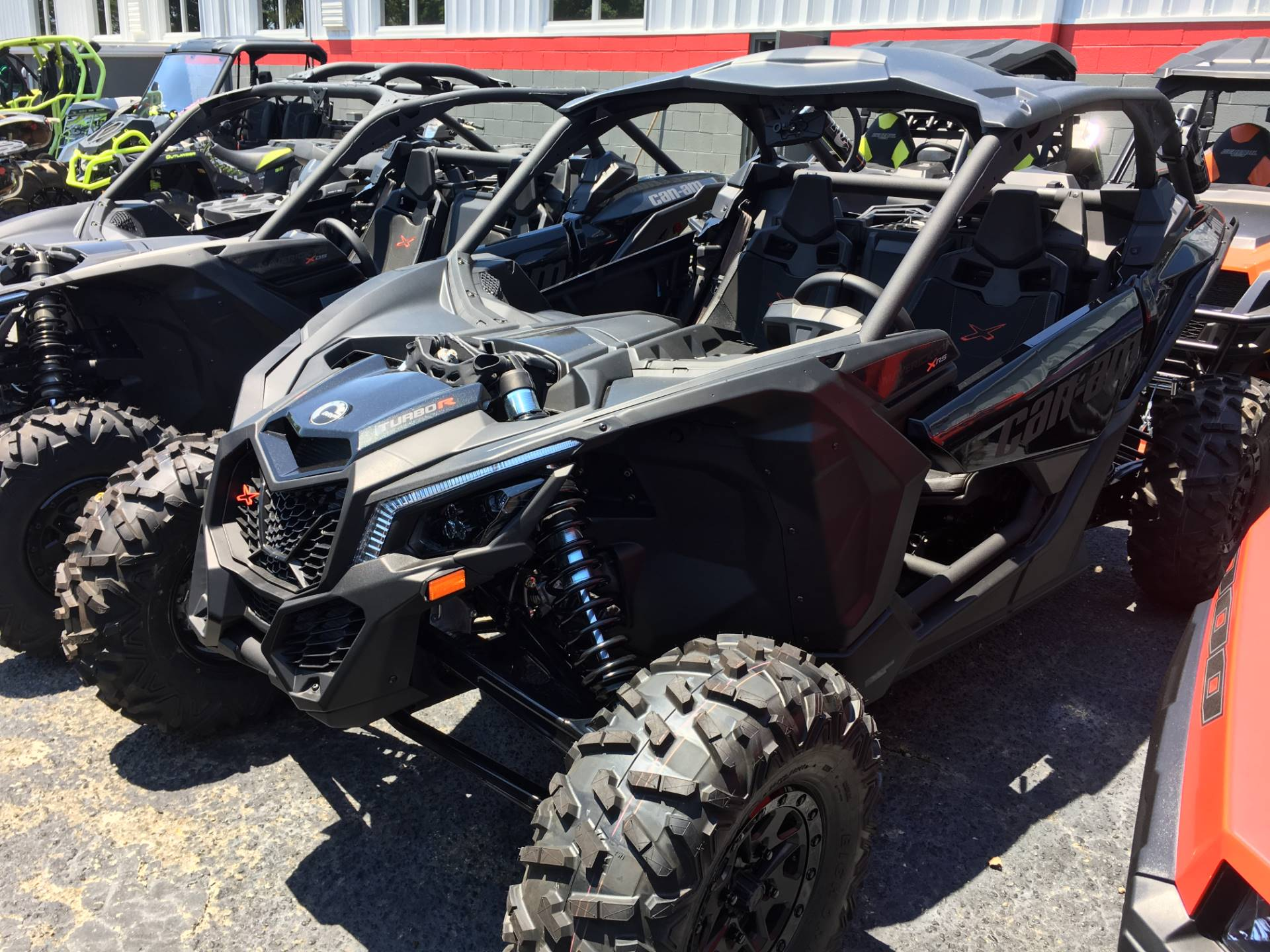 2017 Can-Am Maverick X3 X rs Turbo R in Goldsboro, North Carolina