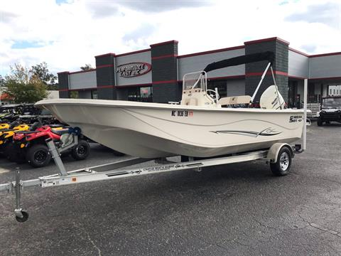 2015 Carolina Skiff 218 DLV in Goldsboro, North Carolina
