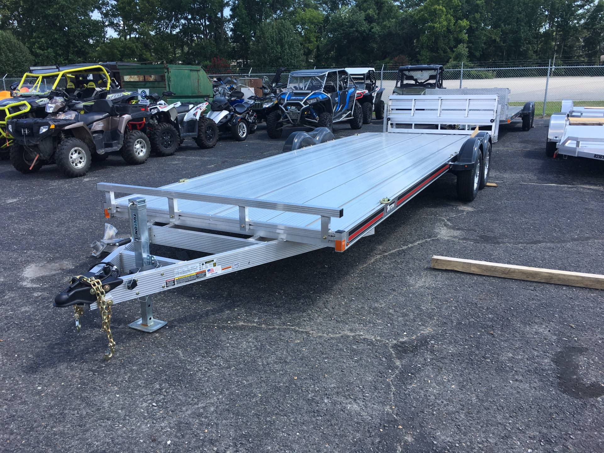 2017 Triton Trailers AUX2482-7KEB in Goldsboro, North Carolina