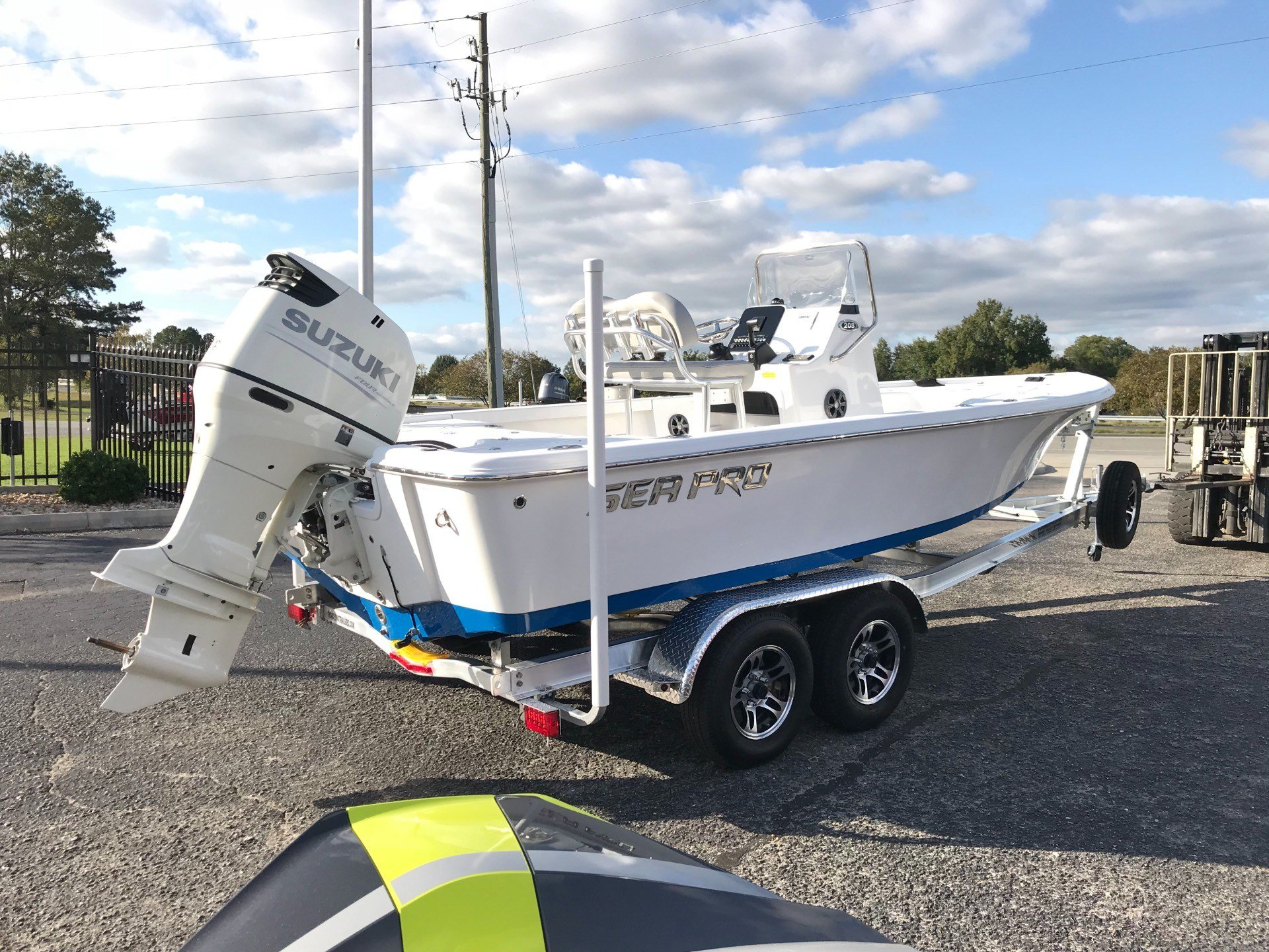 2018 Sea Pro 208 DLX BAY in Goldsboro, North Carolina