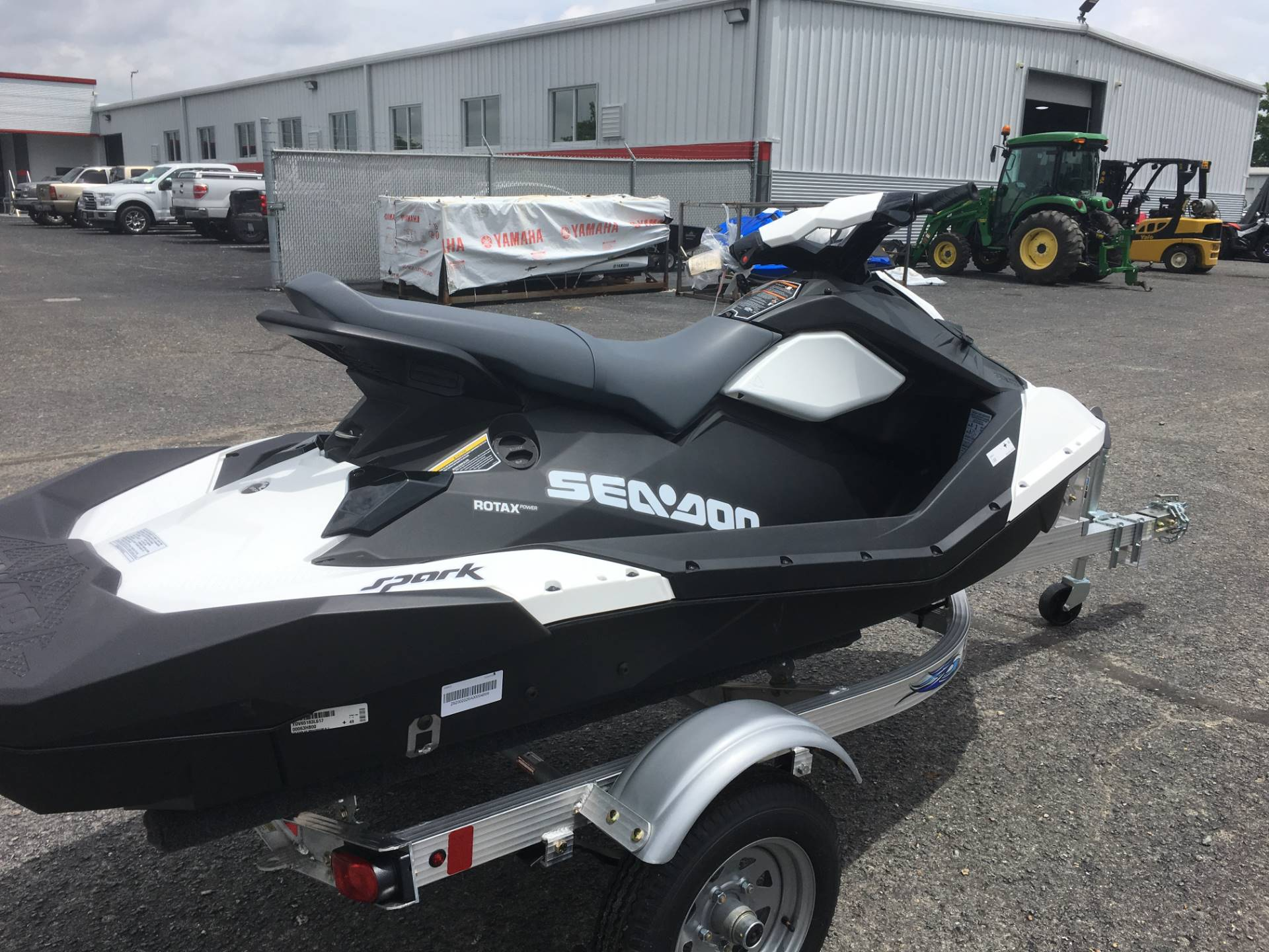 2017 Sea-Doo SPARK 3up 900 H.O. ACE iBR & Convenience Package Plus in Goldsboro, North Carolina