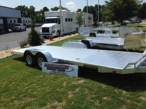 2016 ALUMA 8220 TANDEM UTILITY TRAILER in Goldsboro, North Carolina