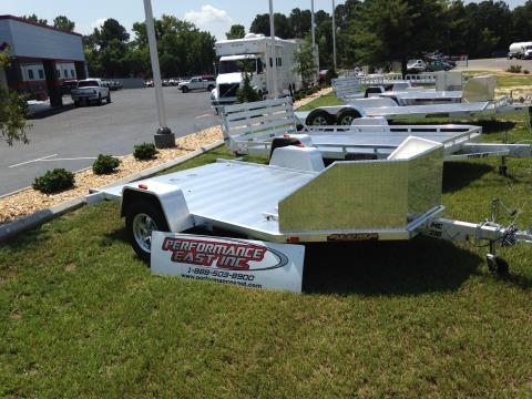 2016 ALUMA MC10 Motorycle Trailer in Goldsboro, North Carolina