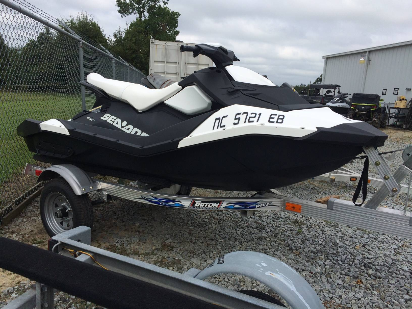 2015 Spark 3up 900 H.O. ACE iBR Convenience Package