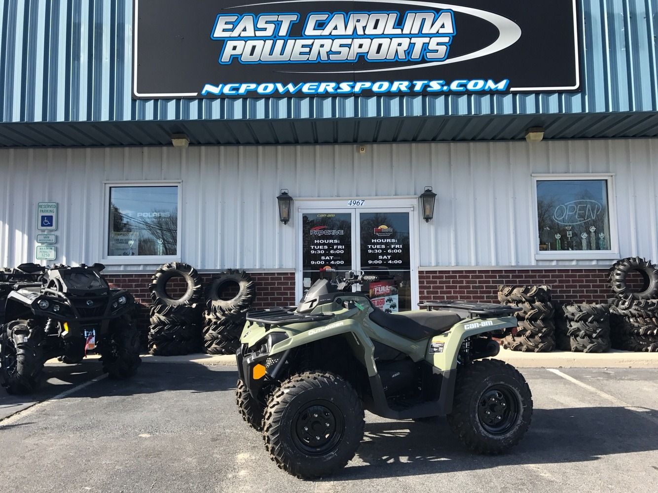 2018 Can-Am Outlander 450 in Greenville, North Carolina