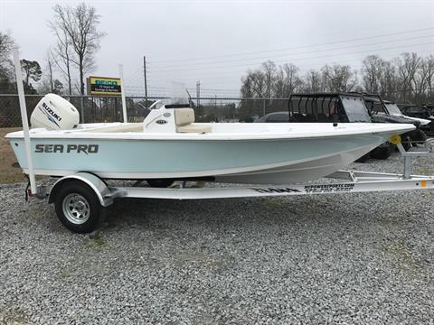 2017 Sea Pro 172 Bay in Greenville, North Carolina