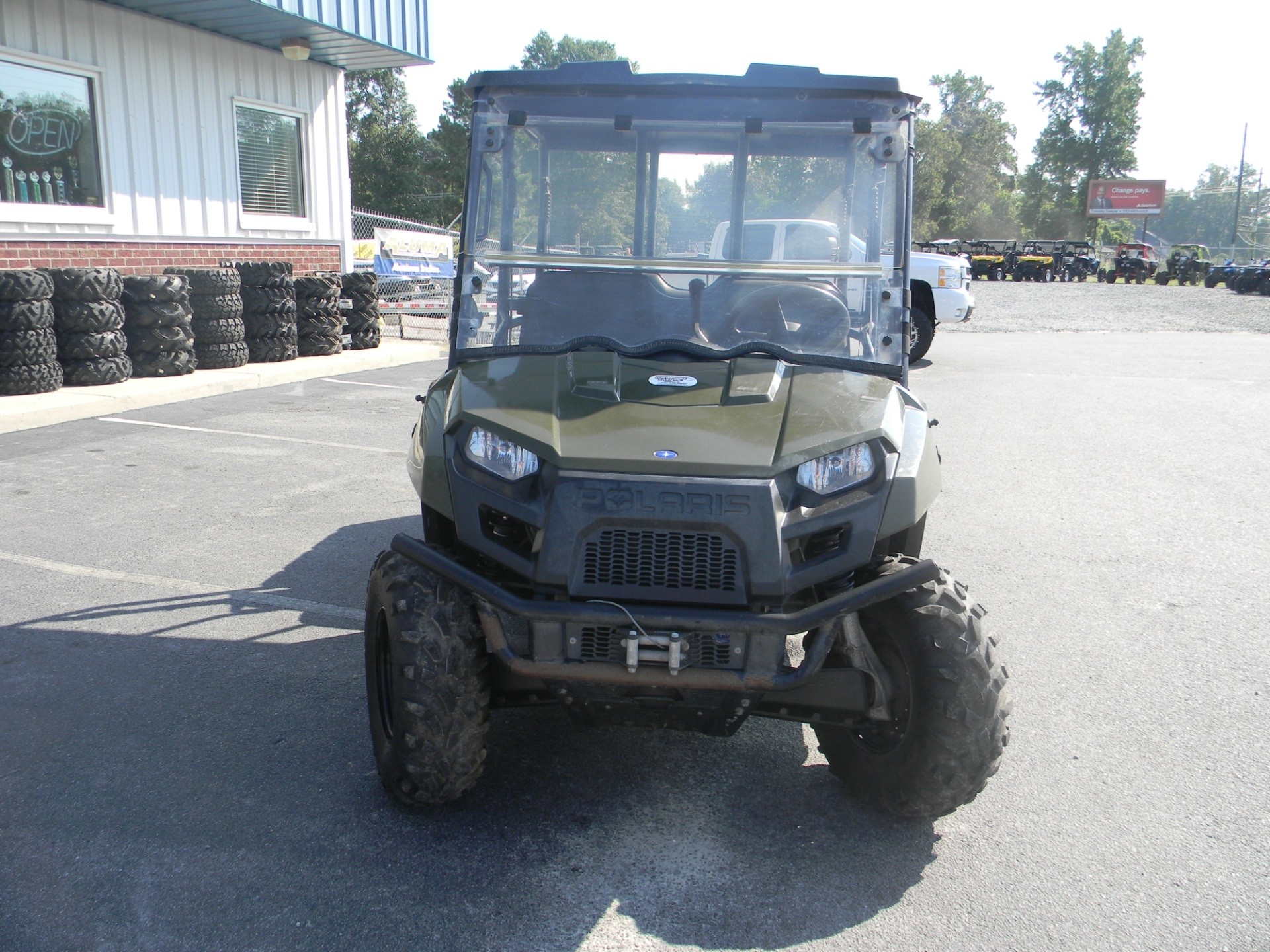 2011 Polaris Ranger® Crew® 500 in Greenville, North Carolina