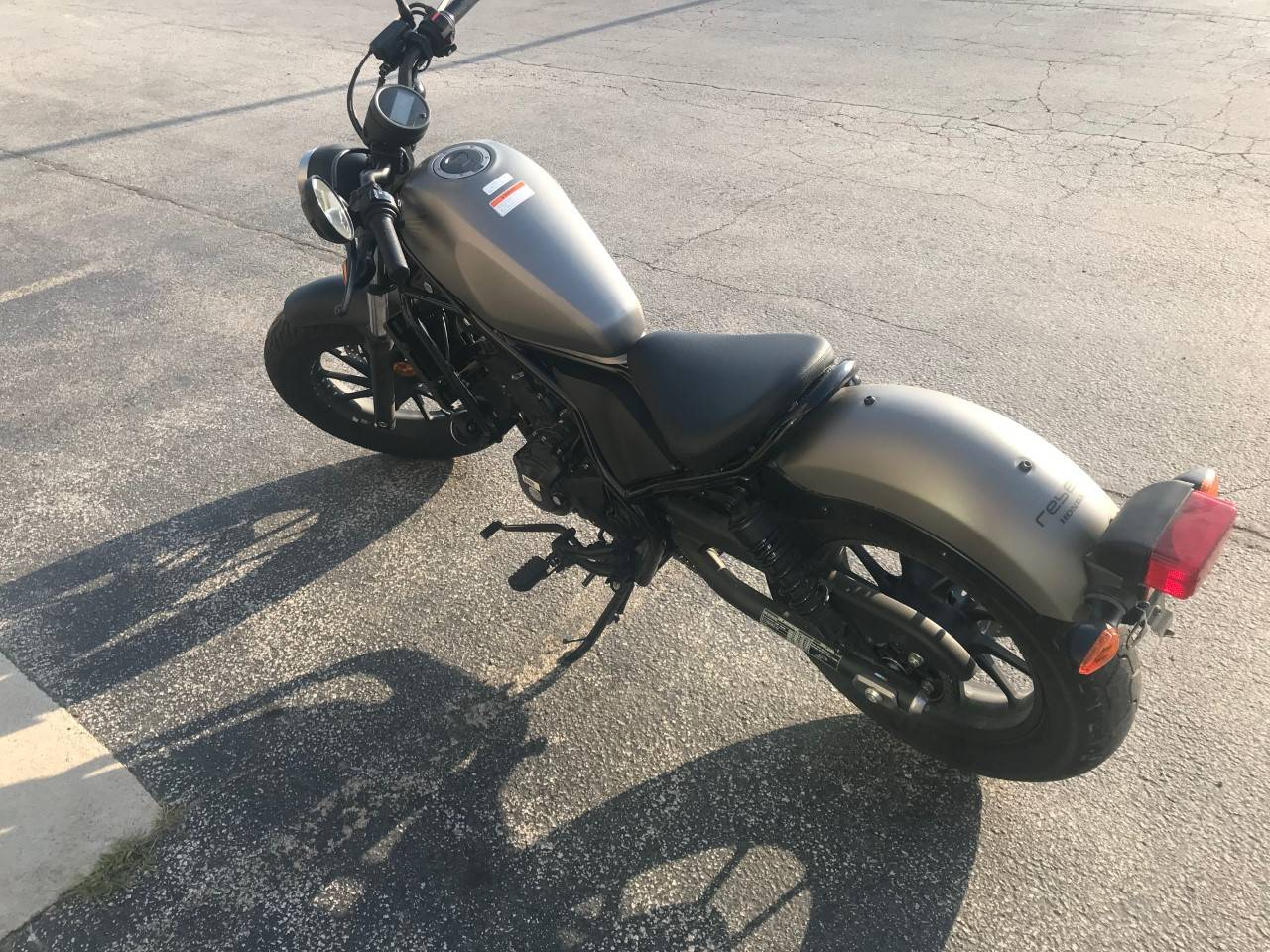 2018 Honda Rebel 300 1