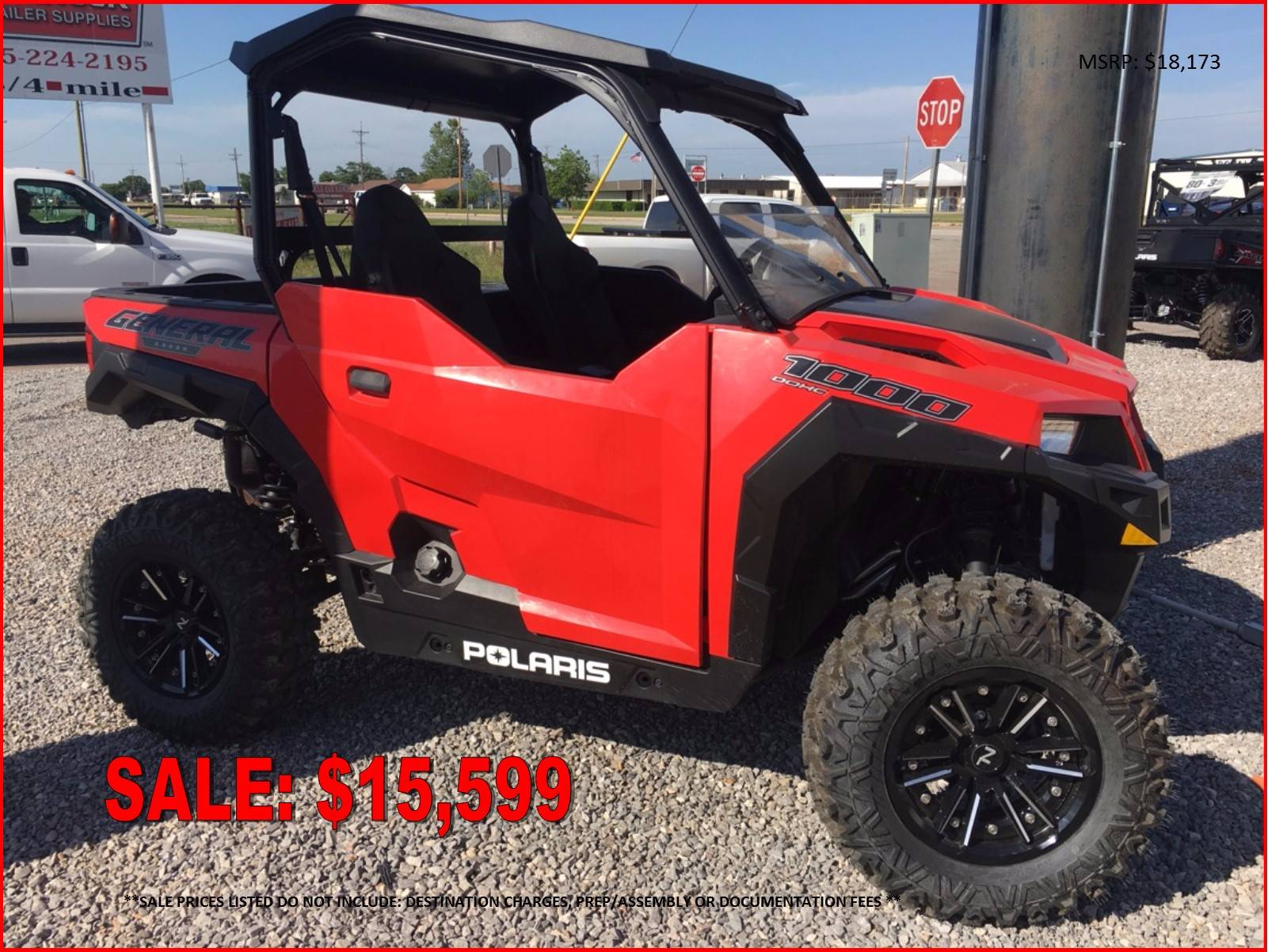 2016 Polaris General 1000 EPS in Chickasha, Oklahoma