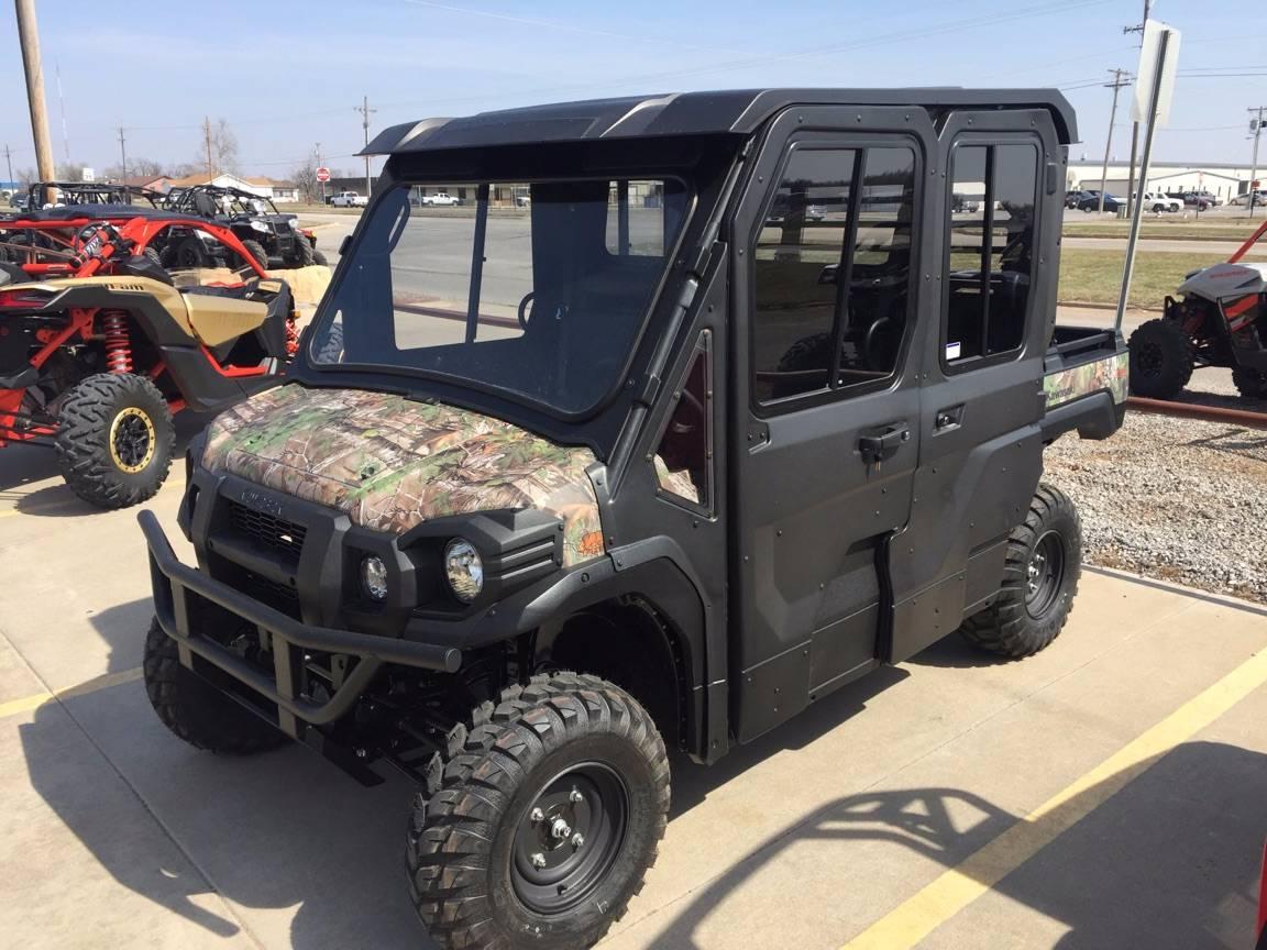 2017 Kawasaki Mule PRO-FXT EPS Camo in Chickasha, Oklahoma