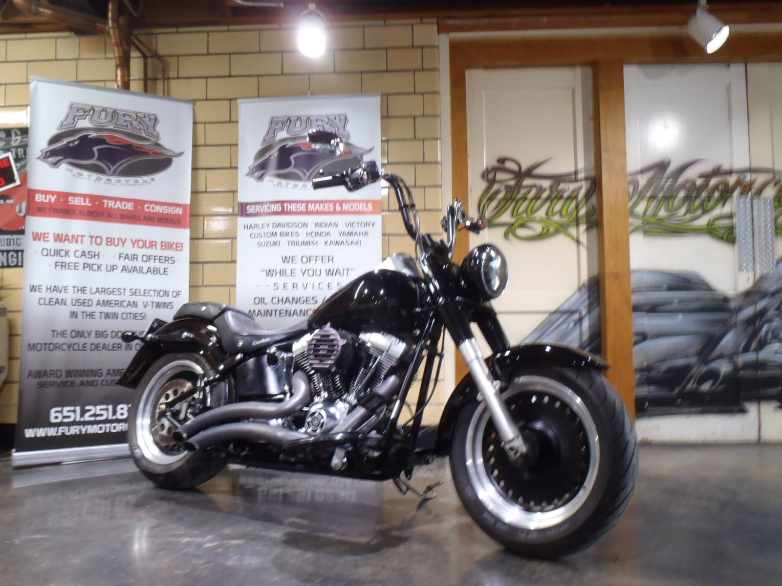 2010 Harley-Davidson Softail® Fat Boy® Lo in South Saint Paul, Minnesota - Photo 1
