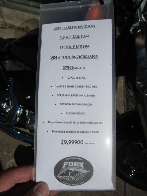 2012 Harley-Davidson Softail® Slim™ in South Saint Paul, Minnesota - Photo 4