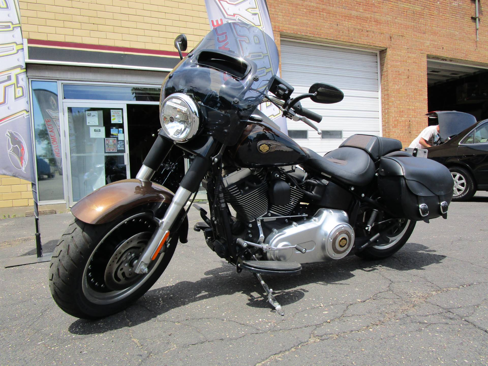 2013 Harley-Davidson Softail® Fat Boy® Lo 110th Anniversary Edition in South Saint Paul, Minnesota