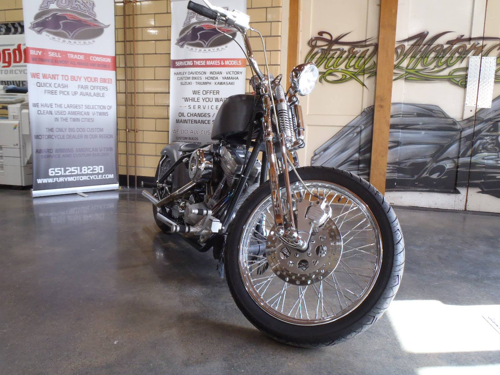 2006 Sucker Punch Sallys Choppers 66 BOBBER in South Saint Paul, Minnesota - Photo 13