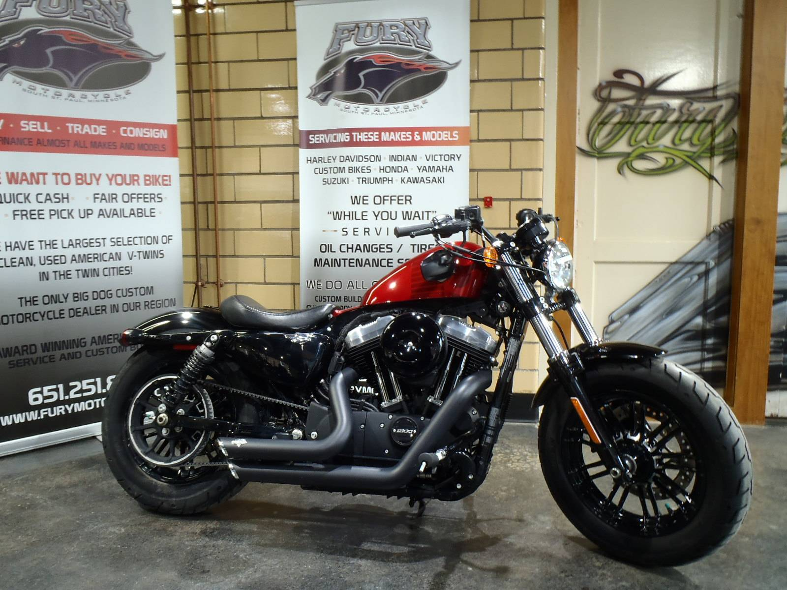 2016 Harley-Davidson Forty-Eight® in South Saint Paul, Minnesota - Photo 1