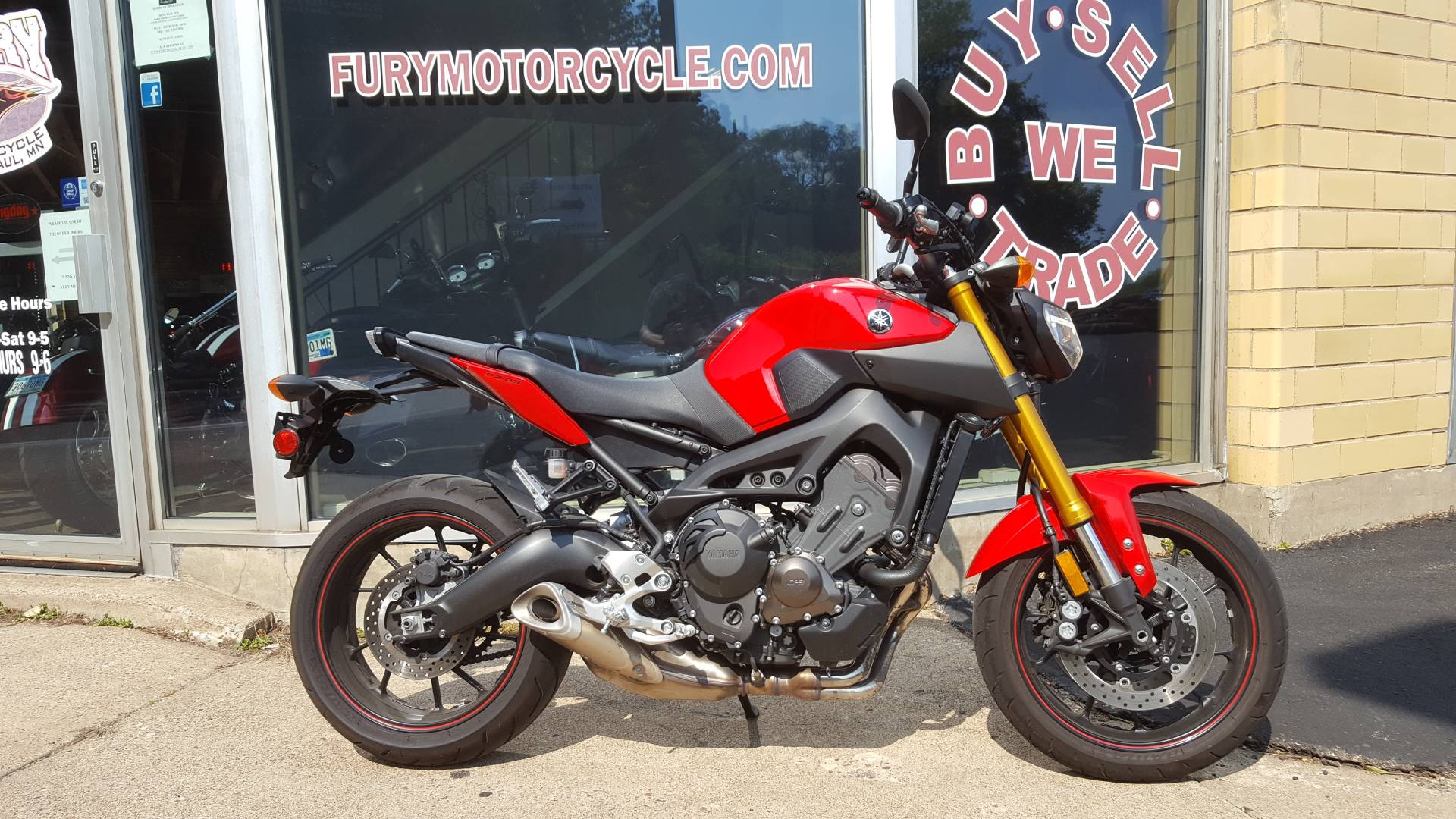 2014 Yamaha FZ-09 for sale 71106