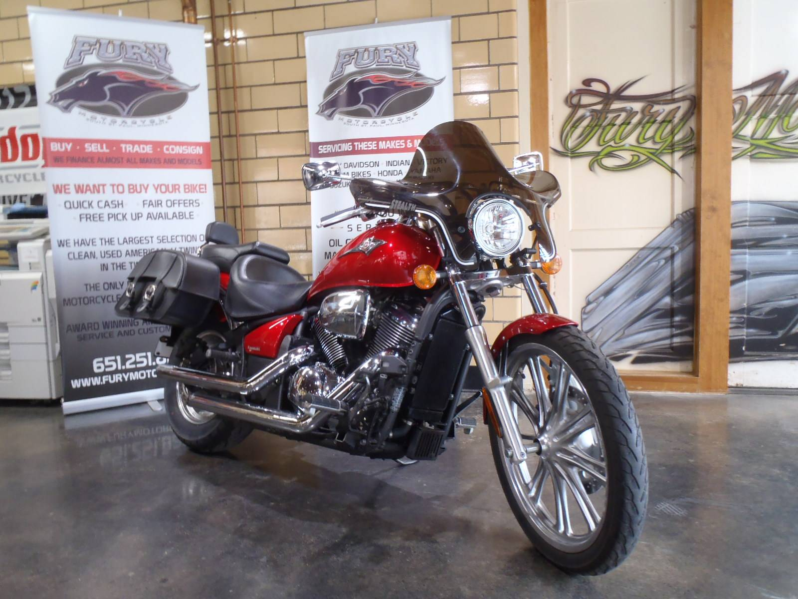 2010 Kawasaki Vulcan® 900 Custom in South Saint Paul, Minnesota - Photo 2