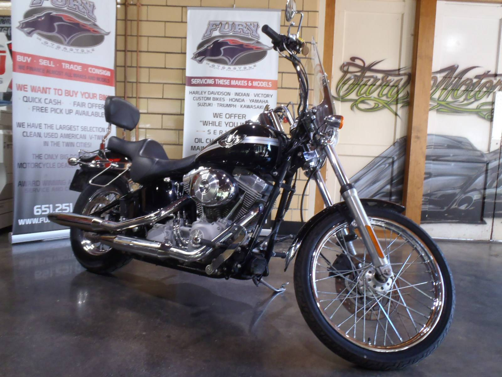 2003 Harley-Davidson FXST/FXSTI Softail®  Standard in South Saint Paul, Minnesota - Photo 1