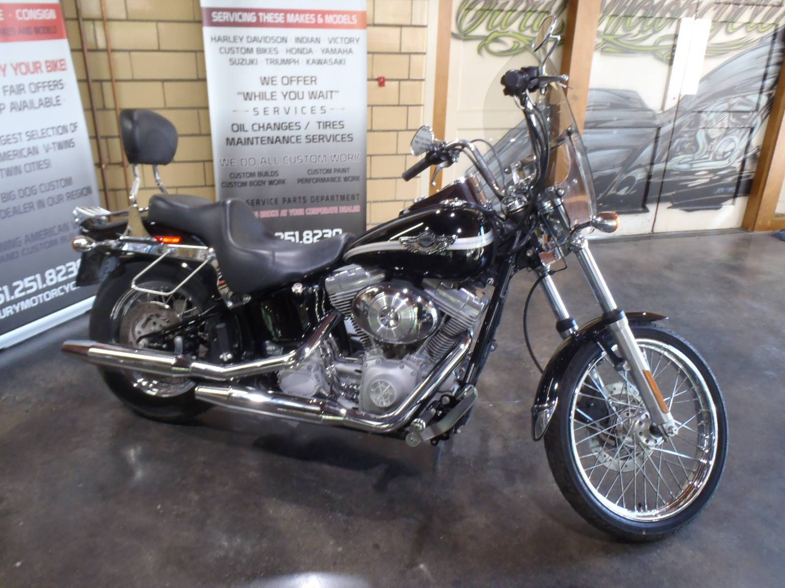 2003 Harley-Davidson FXST/FXSTI Softail®  Standard in South Saint Paul, Minnesota - Photo 2