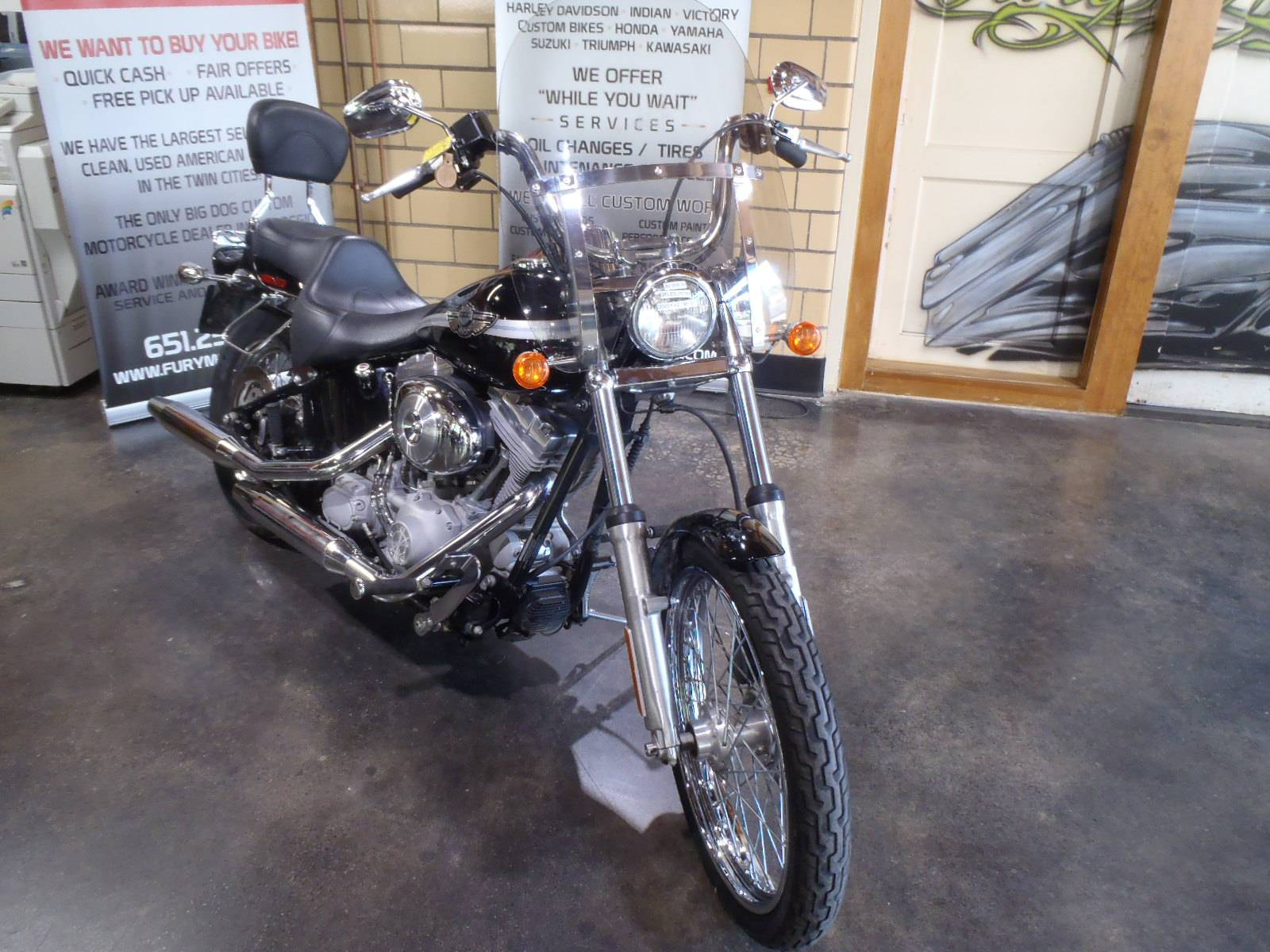 2003 Harley-Davidson FXST/FXSTI Softail®  Standard in South Saint Paul, Minnesota - Photo 9