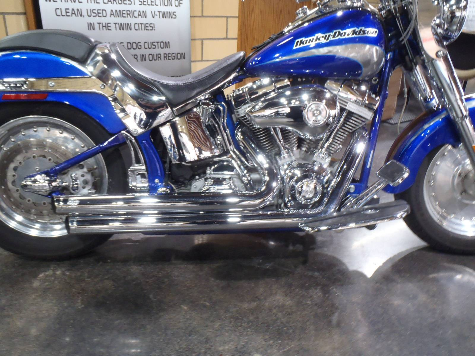 2005 Harley-Davidson FLSTFSE Screamin' Eagle® Fat Boy® in South Saint Paul, Minnesota - Photo 9