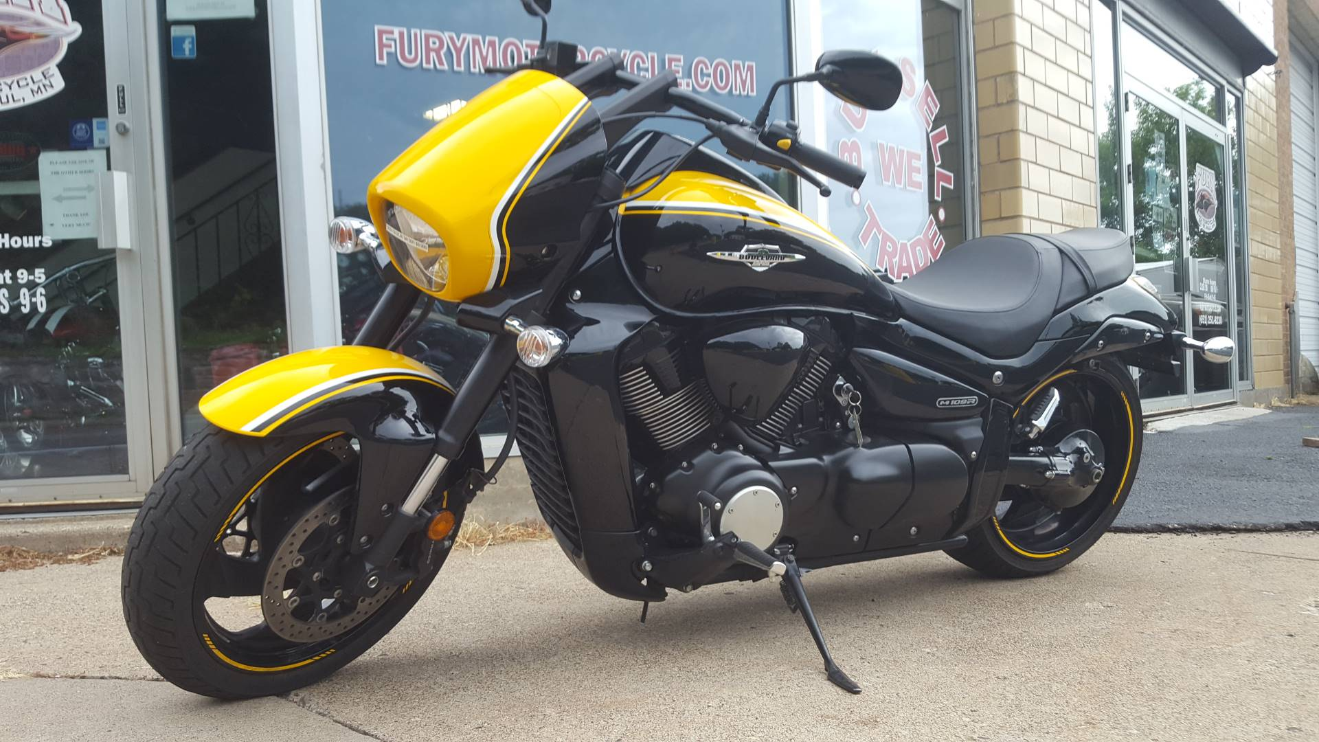 2014 Suzuki Boulevard M109R B.O.S.S. in South Saint Paul, Minnesota