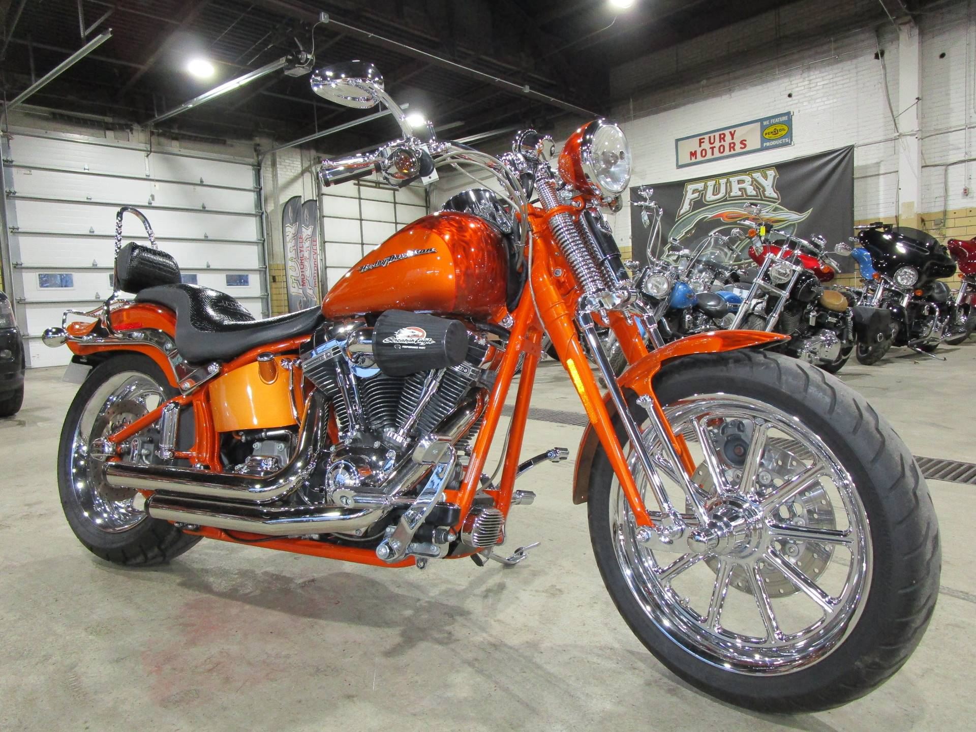 2008 Harley-Davidson CVO Screamin' Eagle Softail Springer for sale 13423