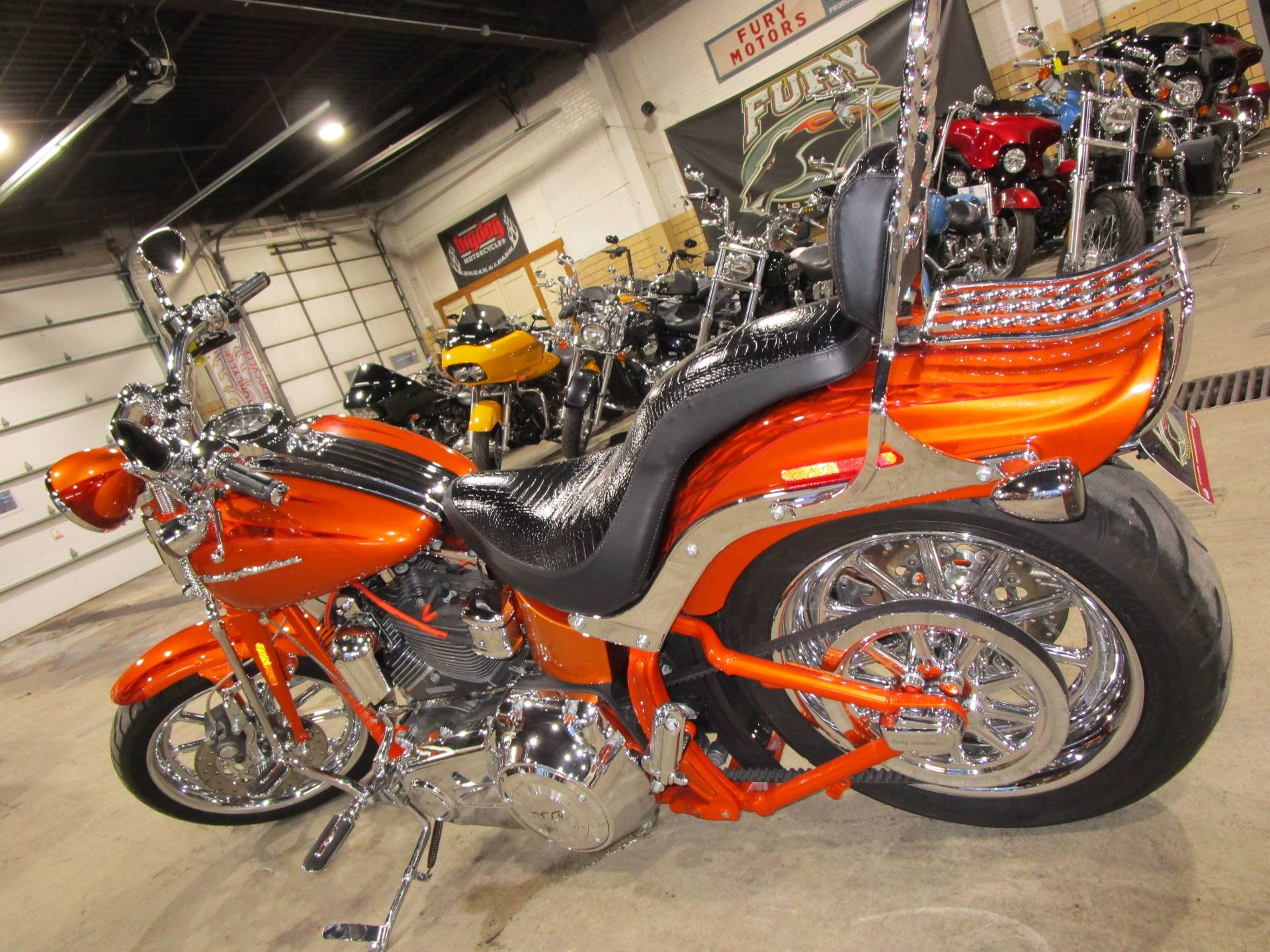 2008 Harley-Davidson CVO™ Screamin' Eagle® Softail® Springer® in South Saint Paul, Minnesota