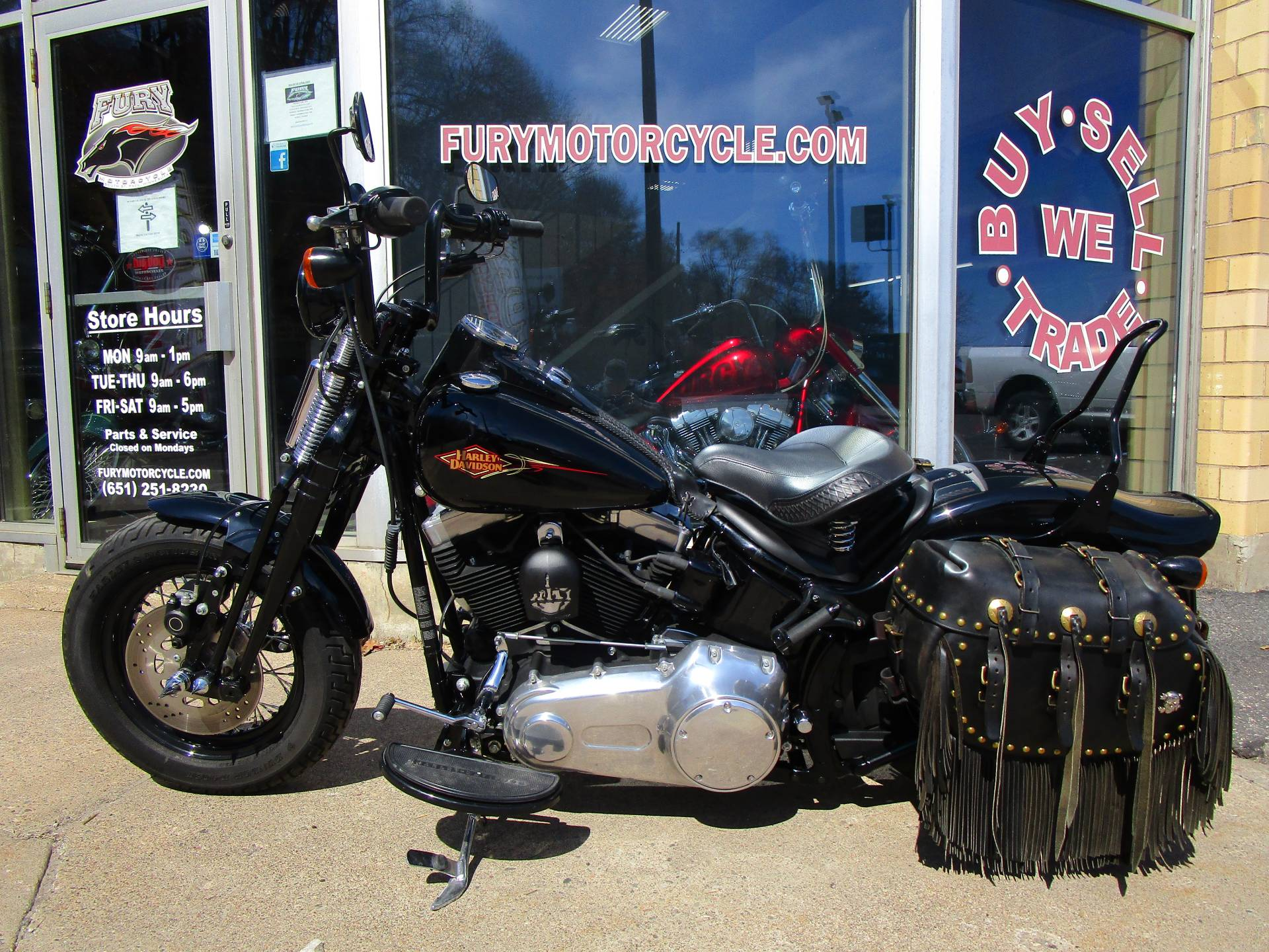 2011 Harley-Davidson Softail® Cross Bones™ in South Saint Paul, Minnesota - Photo 3