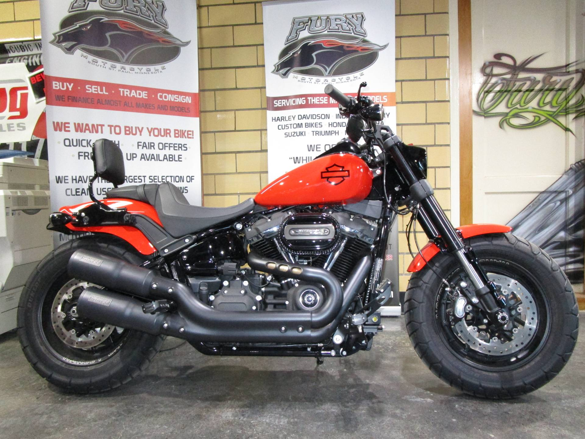 2020 Harley-Davidson Fat Bob® 114 in South Saint Paul, Minnesota - Photo 2