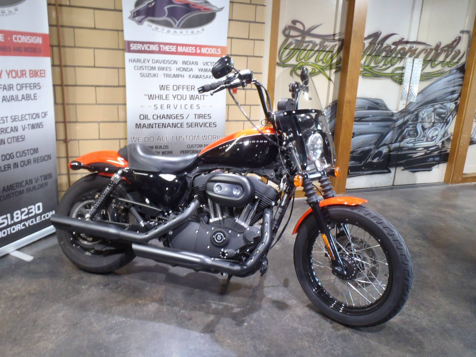 2009 Harley-Davidson Sportster® 1200 Nightster® in South Saint Paul, Minnesota - Photo 2