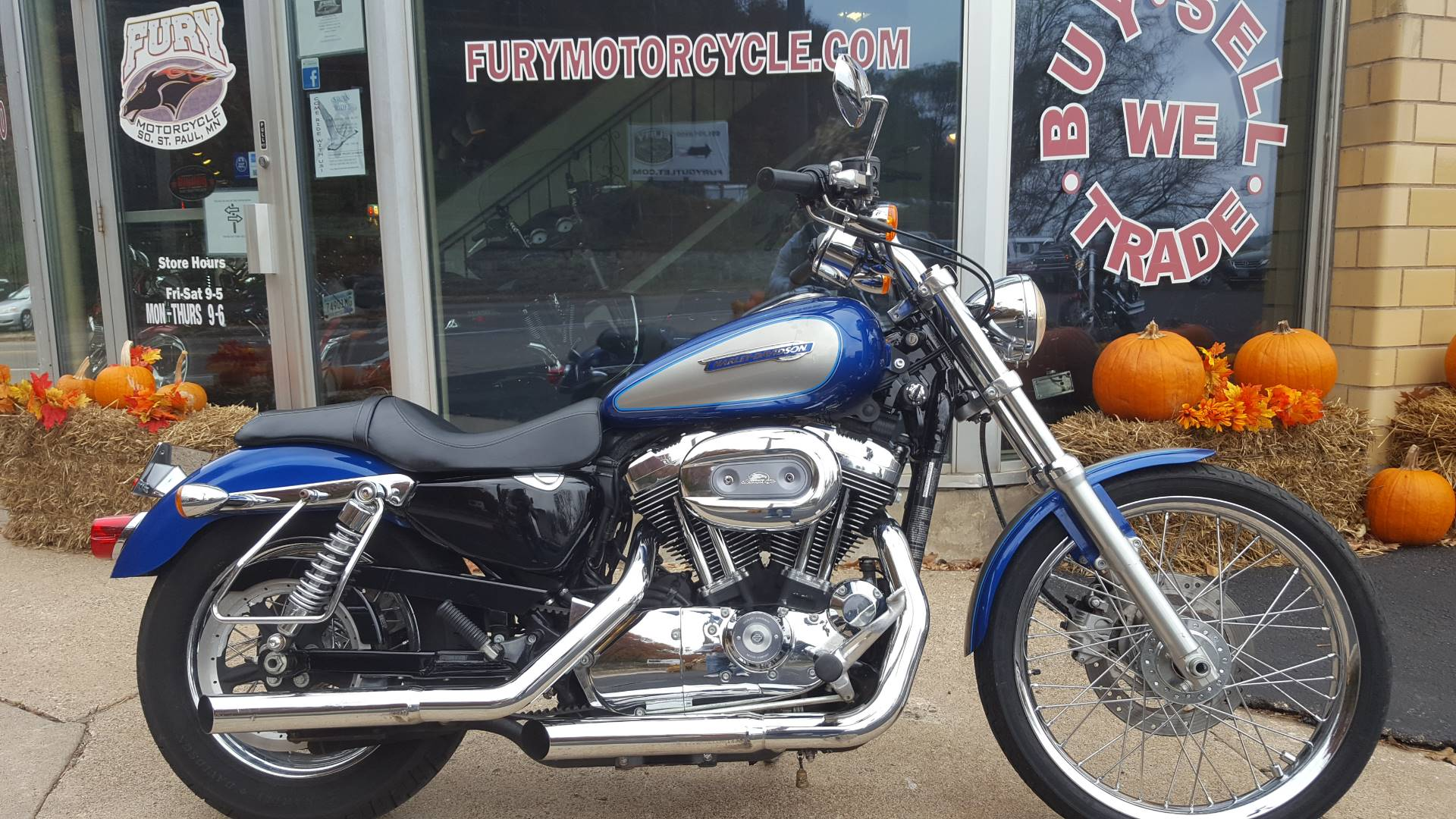 2009 Harley-Davidson Sportster® 1200 Custom Motorcycles South Saint ...