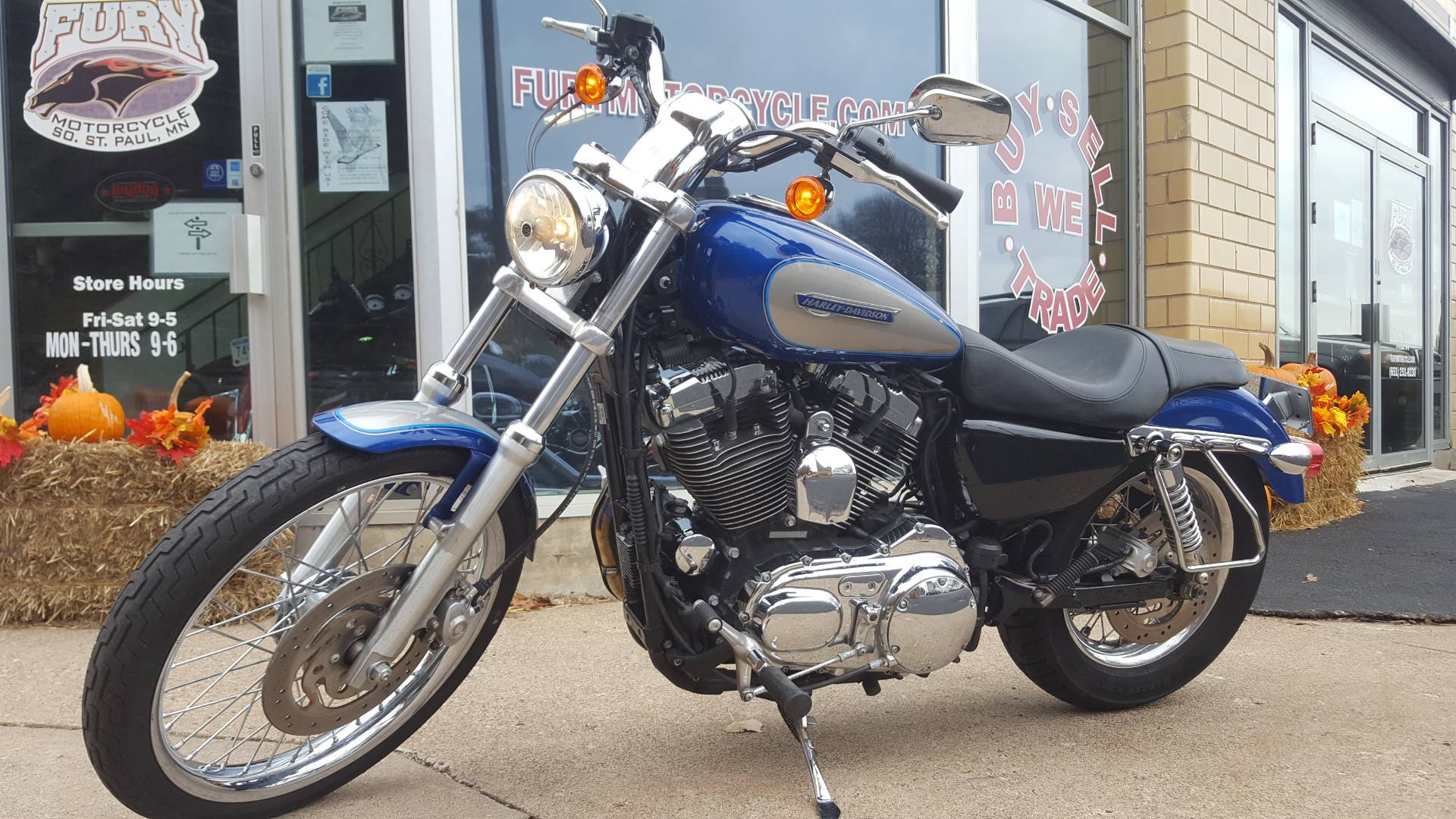 2009 Harley-Davidson Sportster® 1200 Custom in South Saint Paul, Minnesota