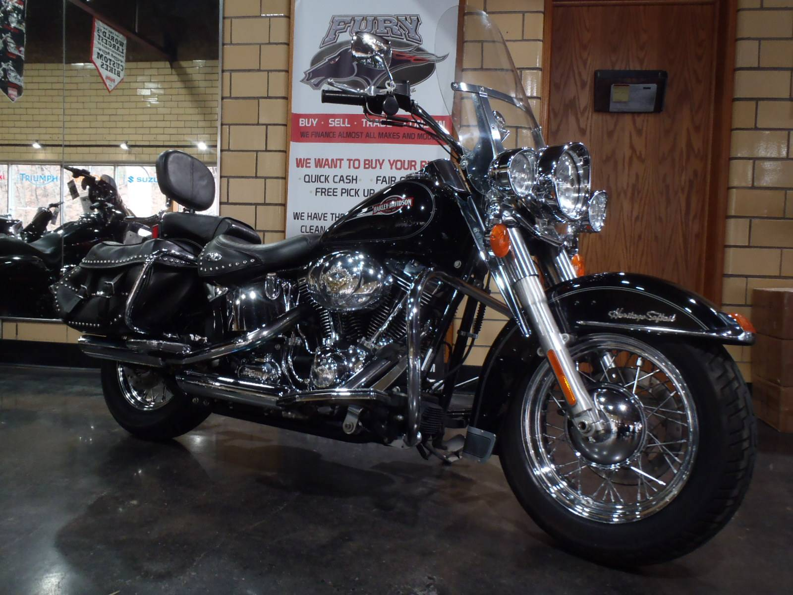 2007 Harley-Davidson Heritage Softail Classic in South Saint Paul, Minnesota - Photo 1