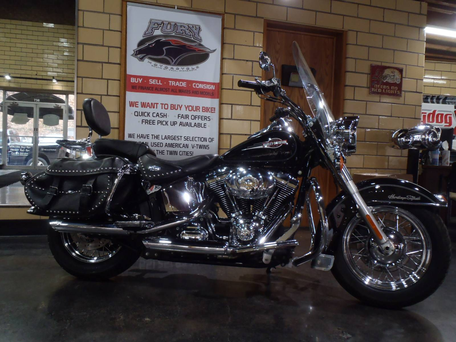2007 Harley-Davidson Heritage Softail Classic in South Saint Paul, Minnesota - Photo 2