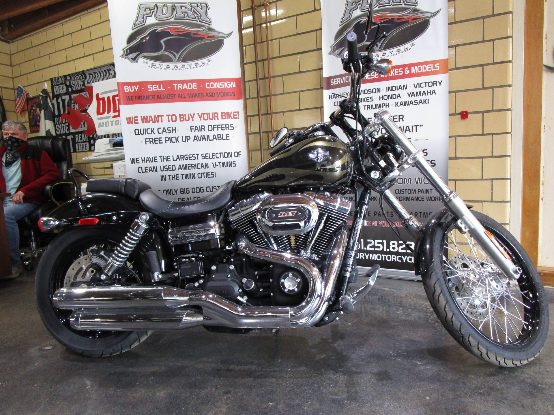 2017 Harley-Davidson Wide Glide in South Saint Paul, Minnesota - Photo 1