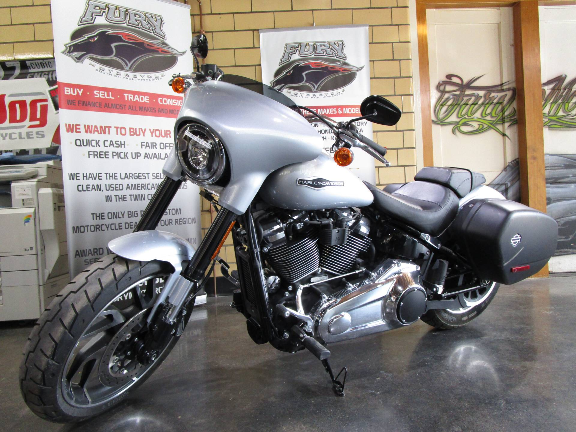 2019 Harley-Davidson Sport Glide® in South Saint Paul, Minnesota - Photo 1