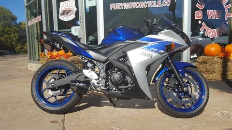 2015 Yamaha YZF-R3 in South Saint Paul, Minnesota